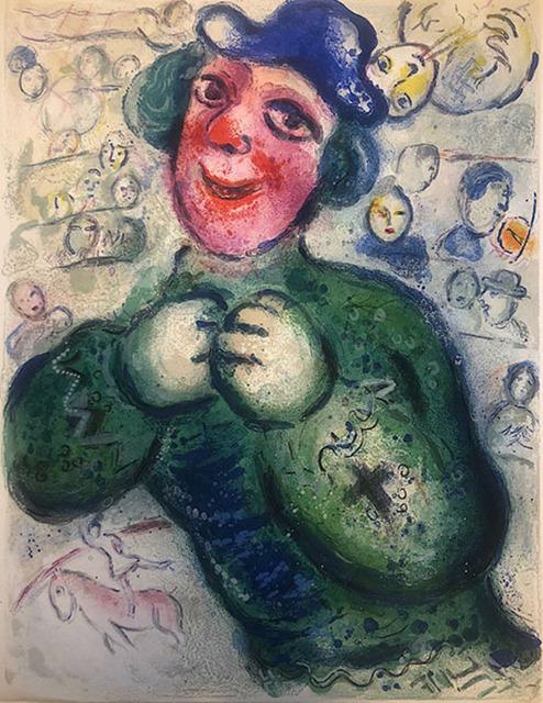 Marc Chagall, 'Le Cirque M.505 ', 1967, Print, Lithograph, Galerie d'Orsay
