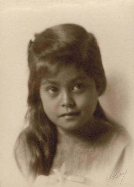 Caroline Haskins Gurrey, 'Young Hawaiian Girl', 1909, Be-hold