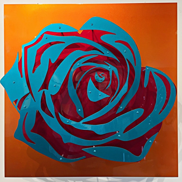 Michael Kalish, 'Candy Chrome Rose I ', 2017, Off The Wall Gallery