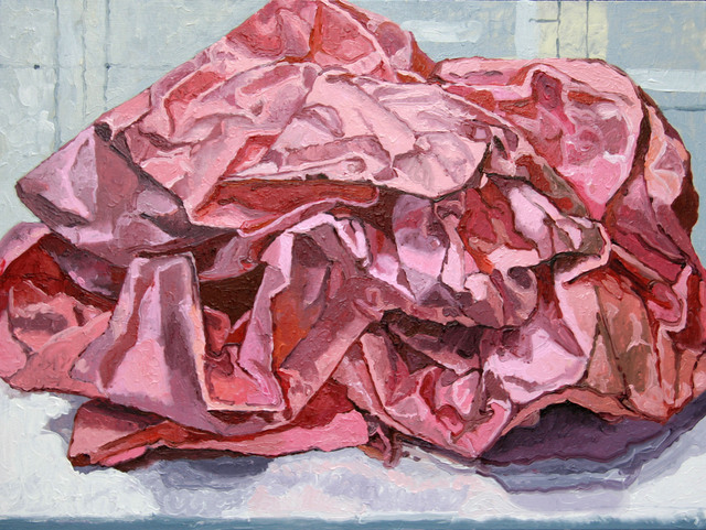 , 'Pink Paper,' 2010, Park Place Gallery