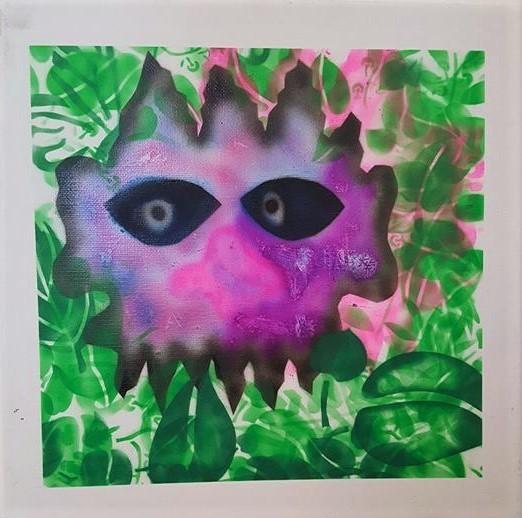 , 'Face 1,' 2016-2017, Ro2 Art