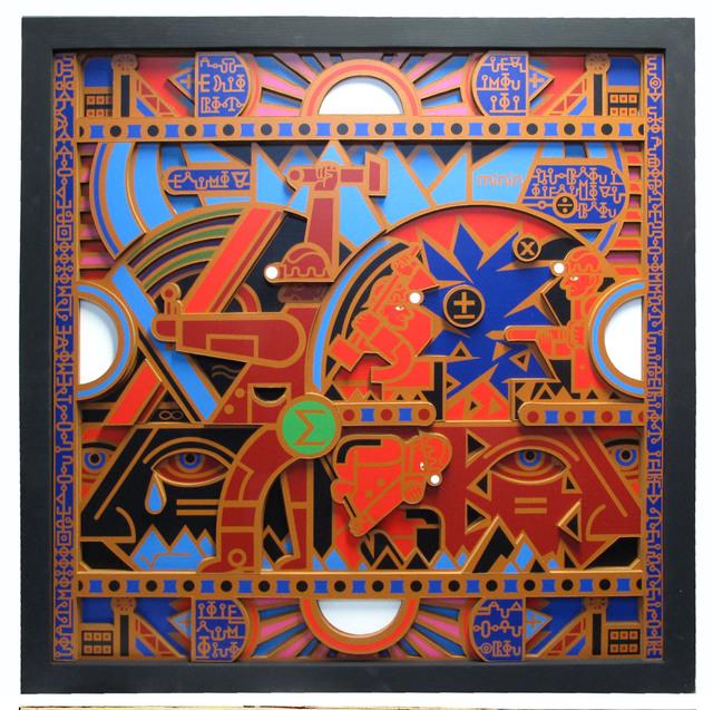 , 'Native Mathematics Black,' 2016, Zenko Gallery