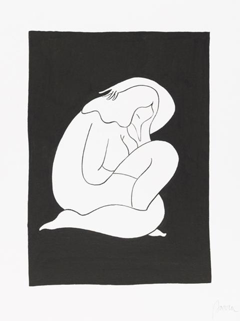 , 'Sleeping,' 2012, Jonathan LeVine Projects