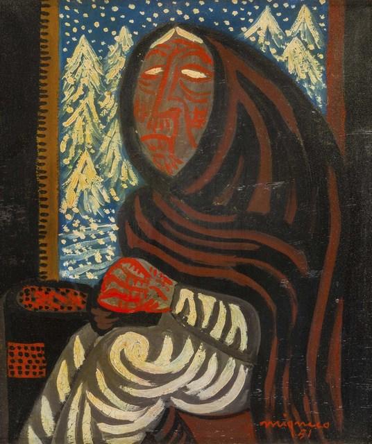 Giuseppe Migneco, 'Inverno', 1951, ArtRite