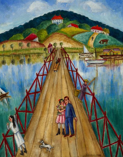 , 'The Bridge,' 1937, Ben Uri Gallery and Museum