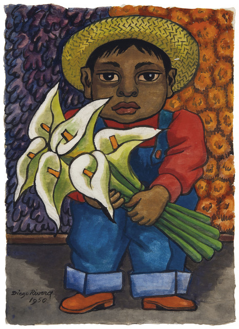 Diego Rivera, 'Niño con alcatraces', 1950, Christie's