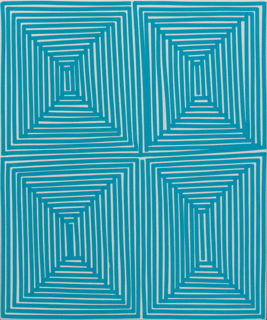 , 'Teal Coffer (Geo),' 2014, Newzones