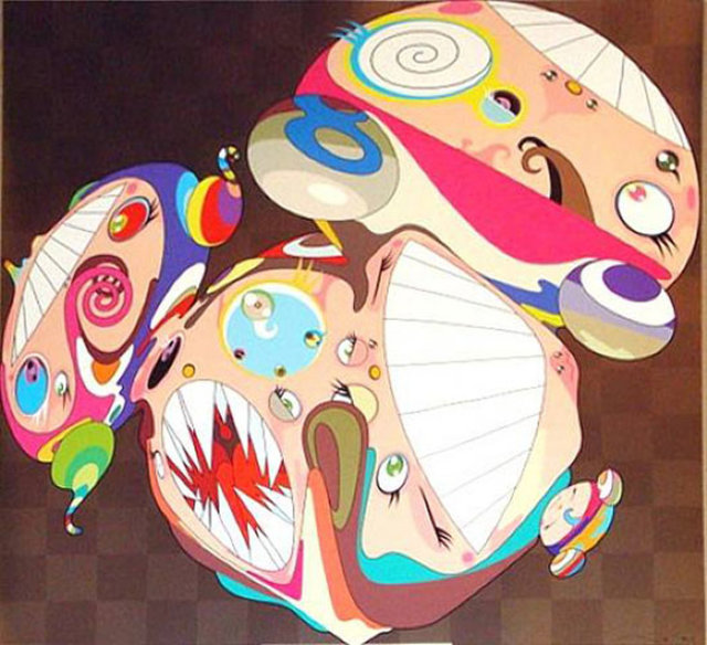 Takashi Murakami, 'Melting DOB E', 2008, Kings Wood Art