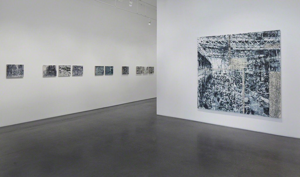 Installation view: Jorge Tacla: Hidden Identities, 2015. Photo John Muggenborg.