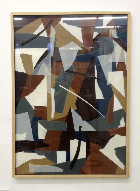 , 'Abgerissene Collage,' 2013, Gestalten