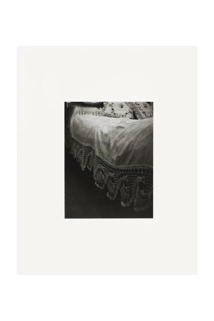 , 'Coverlet, Diego Rivera Bed, Casa Azul, Coyoacán,' 2012, kurimanzutto
