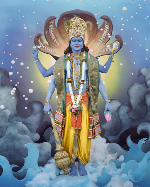 , 'Lord Vishnu,' , Wall Space Gallery