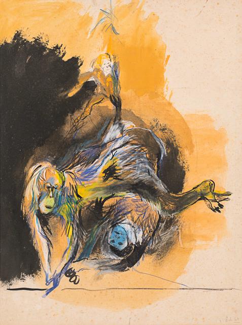 , 'Apes,' 1969, Rosenberg & Co.