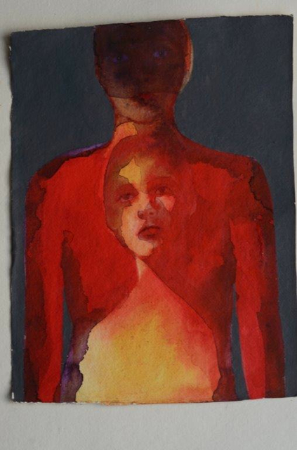 , 'Red Double,' 2014, Salamatina Gallery