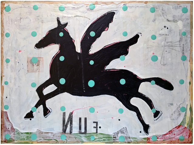 John Randall Nelson, 'Whip the Donkey, Stir the Moon', 2016, FP Contemporary
