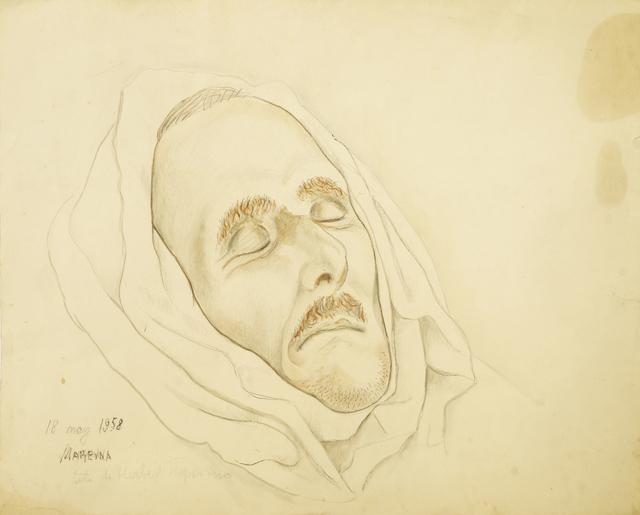 Marie Vorobieff Marevna, 'Head of a dead man, 1958', Roseberys