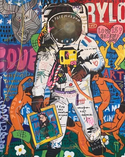 Jisbar, 'Art In Space', 2019  , Galerie Montmartre
