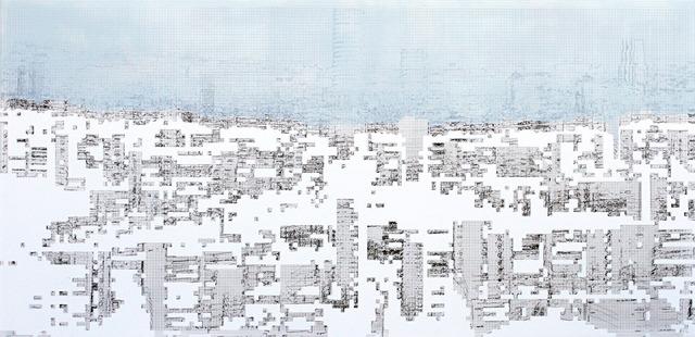 , 'Lesurbanités (scène 2),' 2013, Galerie Lacerte Art Contemporain