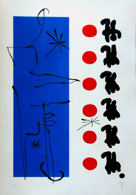 , 'Red and Blue | Rouge et bleu,' 1960, Gilden's Art Gallery