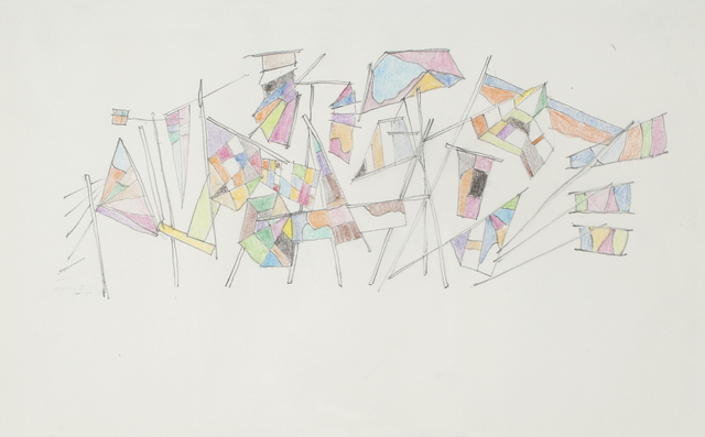 , 'Voile 4,' 2014, Galerie Laurence Bernard