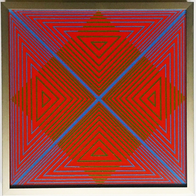 , 'Untitled geometric abstraction,' 1968, Alpha 137 Gallery