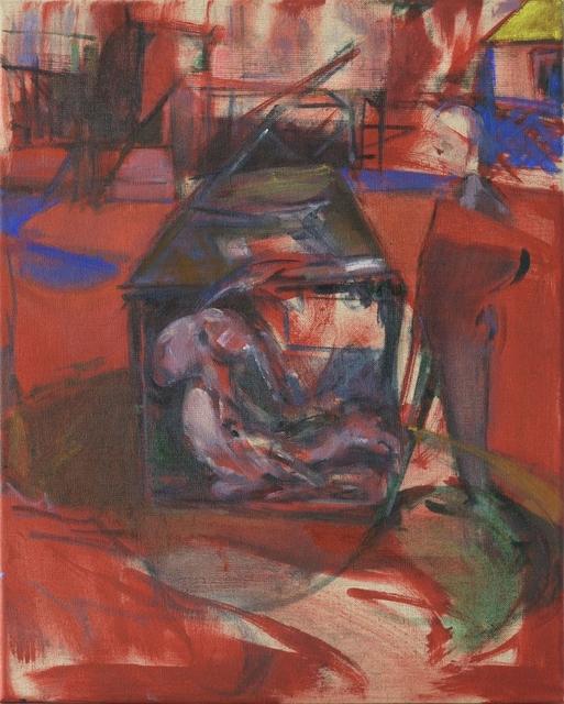 , 'I Never Saw The Dog, But I Recognised Its Bark II,' 2017, Galerie Kornfeld