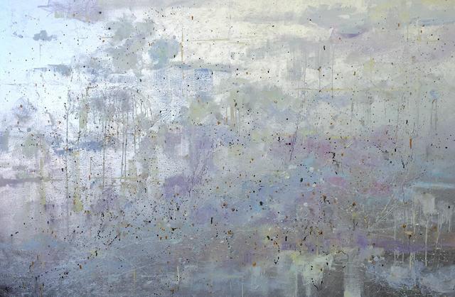 Michelle Sakhai, 'Inner Movement', 2016, Painting, Oil and metal leaf on canvas, Madelyn Jordon Fine Art