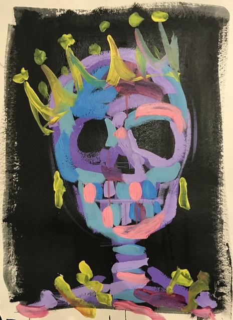 Bradley Theodore, 'Skull Crown ', 2017, Maddox Gallery