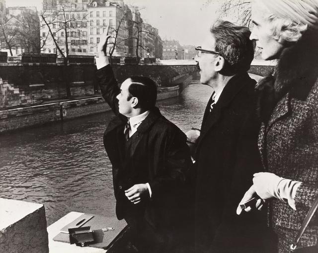 """, 'Transfer of """"Zone de sensibilitié picturale immaterielle"""" to Michael Blankfort, Pont au Double, Paris, February 10, 1962,,' 1962, National Gallery of Art, Washington, D.C."""