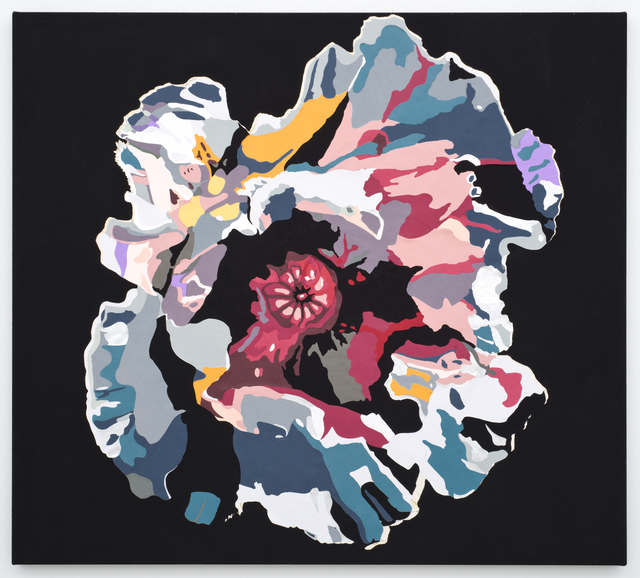 , 'Vortex Flower (poppy),' 2016, Lora Reynolds Gallery