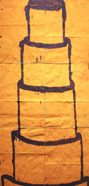 Gary Komarin, 'Orange and Violet CAKE ', Bill Lowe Gallery