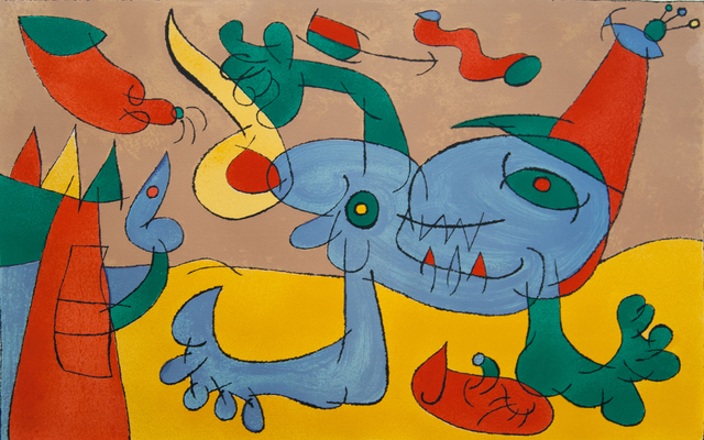 Joan Miró, 'The Massacre of the King of Poland III, from: Series for King Ubu', 1966, Gilden's Art Gallery