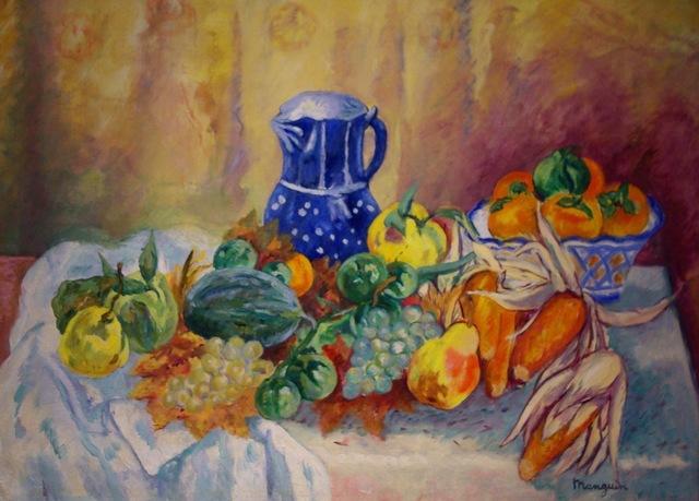 , 'Nature Morte, Melon, Poires, Mais et Pot Bleu,' 1942, Anderson Galleries