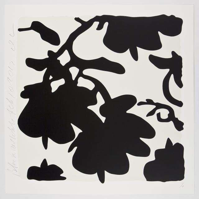Donald Sultan, 'Black and White, Feb 10, 2017', 2017, Meyerovich Gallery