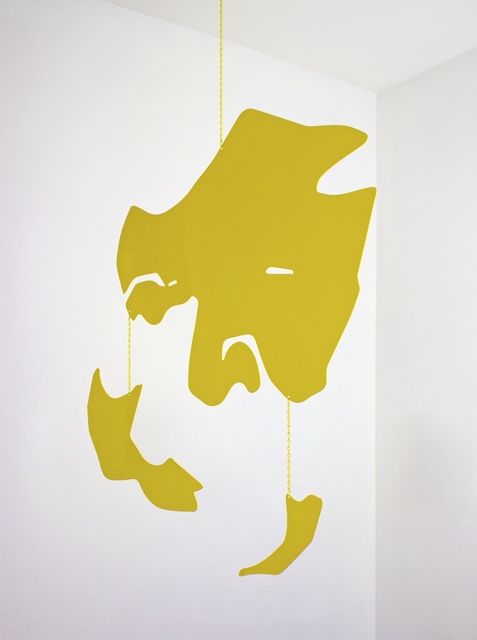 , 'Blind 55 (Yellow Mobile),' 2018, Nohra Haime Gallery