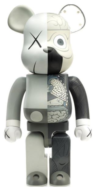 KAWS, 'KAWS DISSECTED COMPANION: 100% BE@RBRICK GREY', 2010, Marcel Katz Art