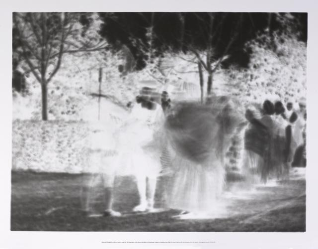 , 'Impressió fotogràfica sobre un mateix paper de 40 fotogrames de la filmació del Ball de l'Espolsada, rodada a Cardedeu l'any 1902,' 2015, Galería Joan Prats