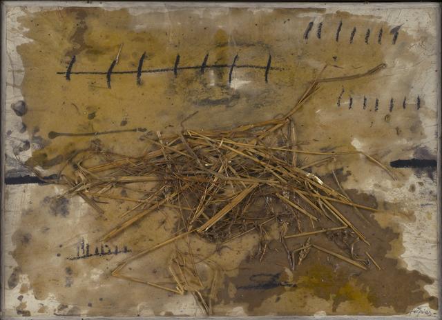 , 'Collage à la paille,' , Galerie van de Loo Projekte