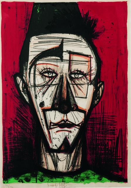 Bernard Buffet, 'Clown blanc, from Mon Cirque', 1968, Skinner