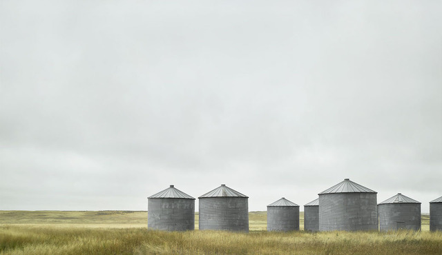 , 'Grain Silos,' 2018, West Branch Gallery
