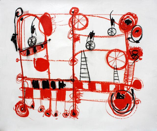 , 'Dialog,' 2014, Maria Elena Kravetz
