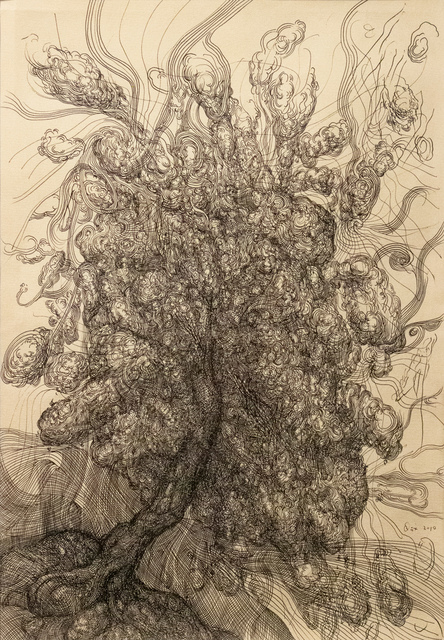 , 'Tree I 树 一,' 2010, Galerie Dumonteil