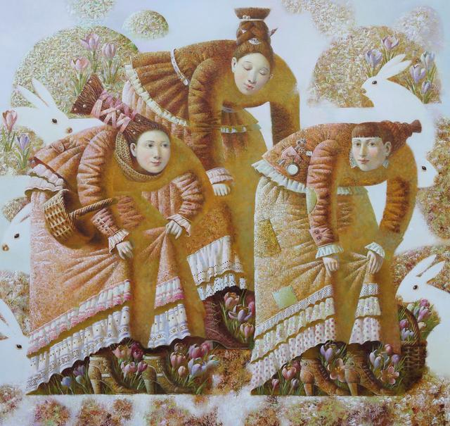 , 'Ladies with Crocus in Spring,' 2014, REDSEA Gallery