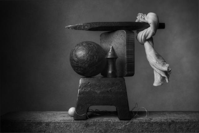 , 'Spikes Anvil & Cloth,' 2017, Galleria del Cembalo