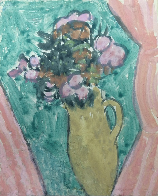 , 'Still Life of Flowers at a Window,' 1928, Browse & Darby