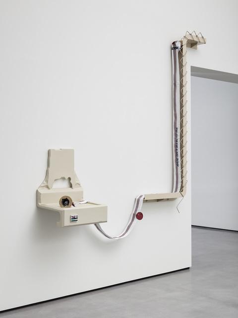 Magali Reus, 'Sentinel (Vapor Trail)', 2018, Galerie Eva Presenhuber