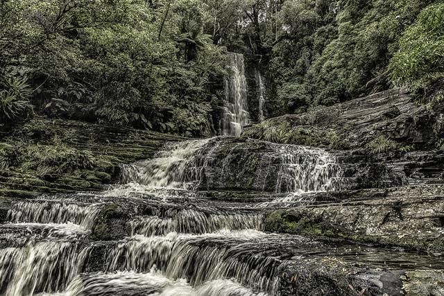 , 'Cascading Falls,' , Soho Photo Gallery