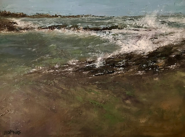 Julie Hopkins, 'Newport Coast in Winter', 2019, The Galleries at Salmagundi