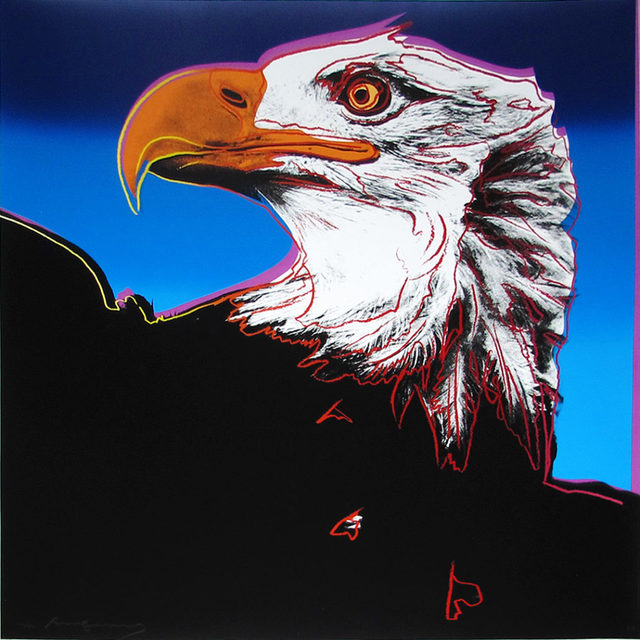 Andy Warhol, 'Bald Eagle II.296 from the Endangered Species portfolio', 1983, Hamilton-Selway Gallery Auction