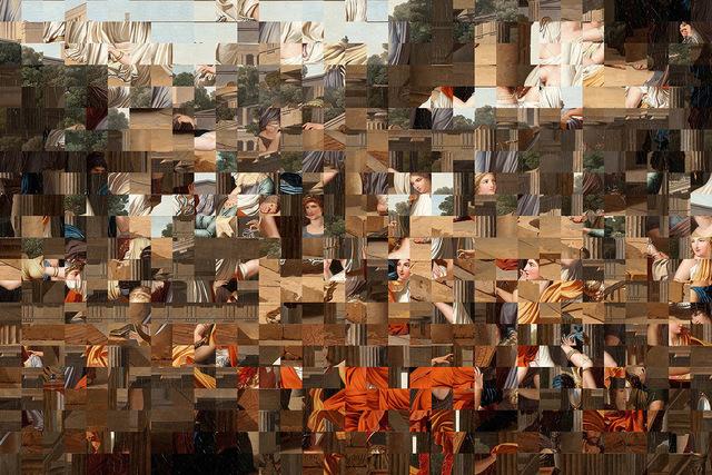 , 'Scatter in Time III,' 2018, Leila Heller Gallery